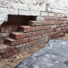 reset loose brick