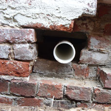 crawl space vent thru wall